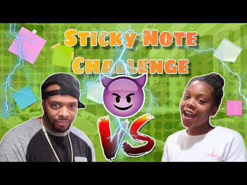 ep.8 sticky note challenge