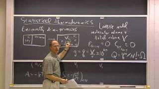 Clase 27 | MIT 5.60 Termodinámica y cinética, primavera de 2008 (mecánica estadística y niveles discretos de energía)