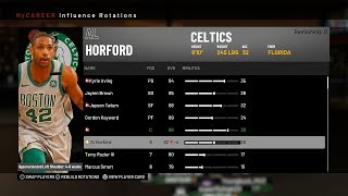 NBA2K19 ROTATION CONTROL MYCAREER