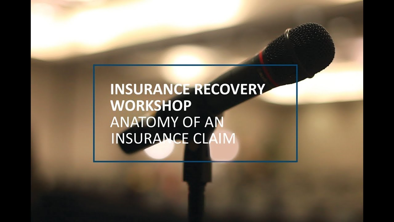 Insurance Recovery Workshop - Week 4 Thumbnail Image