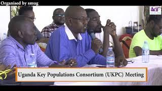 Uganda Key Populations Consortium UKPC meeting
