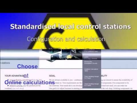 This video shows how fast it is to configure and calculate standard local control boxes (1- 3 fold) with the online calculator of Quintex