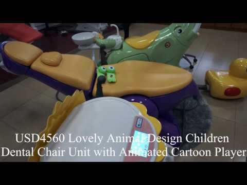 Lovely Animal Design Children Dental Chair Unit
