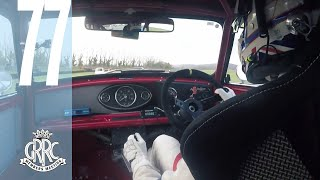 Tom Blomqvist Races A Mini At Goodwood On Board