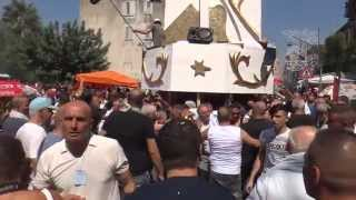 preview picture of video 'Festa Della Madonna Della Neve 2014   Il Carro In Corso Ponticelli (10/08/2014)'