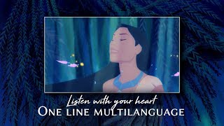 Listen With Your Heart [One Line Multilanguage]