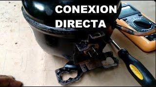 Compresor de Refri doméstico  Conexión directa sin sistema de arranque