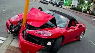 самые дорогие аварии суперкаров the most expensive supercar accident