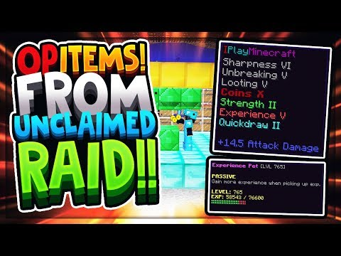 Download Getting Op Items From Unclaimed Raid Minecraft Factions