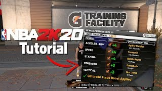 How to Use the Gatorade Training Facility :: NBA 2K20 Tutorial