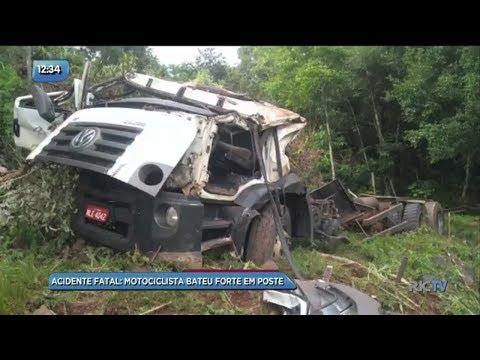 Balanço de Acidentes: caminhão sai da pista e capota em Anchieta