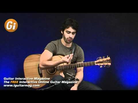 Two Handed Tapping For Acoustic Guitar - Free Guitar Lessons With Maneli Jamal iGuitar Magazine
