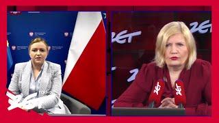 Olga Semeniuk o otwarciu gastronomii: Patrzymy na możliwość otwierania ogródków