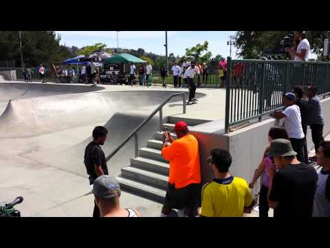 Peterson skatepark footy