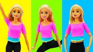 Видео для девочек - Принцесса Барби готовится к выступлению