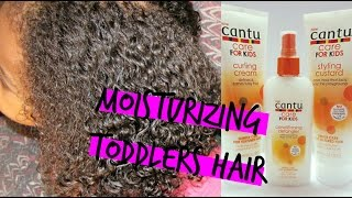 Kids Natural Hair|how To Moisturize Dry Hair Fast