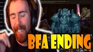 Asmongold Watches The Leaked BFA Ending Cinematic That Was Found On A Russian Forum