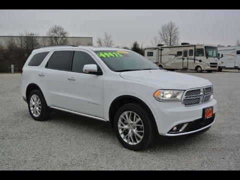 2015 Dodge Durango Citadel All Wheel Drive For Sale Dayton Troy Piqua Sidney Ohio | 27225T