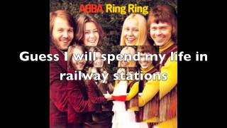 ABBA - Another Town, Another Train Lyrics