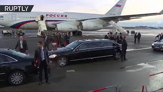 Работает личная охрана Путина
