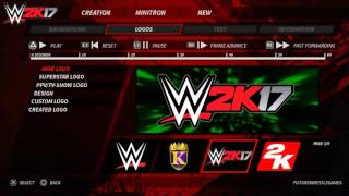 WWE 2K17 Concept/Idea: Create a Minitron Gameplay (PS4/Xbox One)