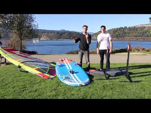 Wind Foil Showdown: Starboard GT vs. Team Set