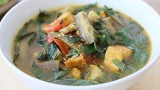 Eggplant and Perilla Soup – CANH CÀ BUNG