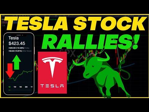 TESLA STOCK RALLIES OVER 12%! | TECHNICAL ANALYSIS ON TESLA STOCK AHEAD OF BATTERY DAY!#TESLA #TSLA