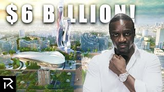 Why Akon's Building His Own $6B Mega City
