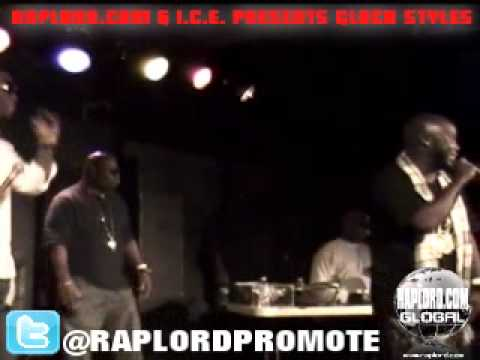 Raplord.com Global And I.C.E Presents Glock Styles Live @ Volume 11-7-13-12.