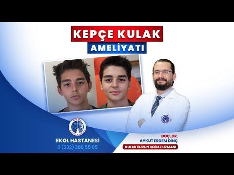 Kepçe Kulak Ameliyatı - Doç. Dr. Aykut Erdem Dinç - İzmir Ekol Hastanesi