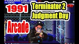 1991Terminator2T2ArcadeOldSchoolGamePlaythroughRetrogame
