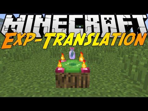 Minecraft Mods: EXP-TRANSLATION MOD (1.8)