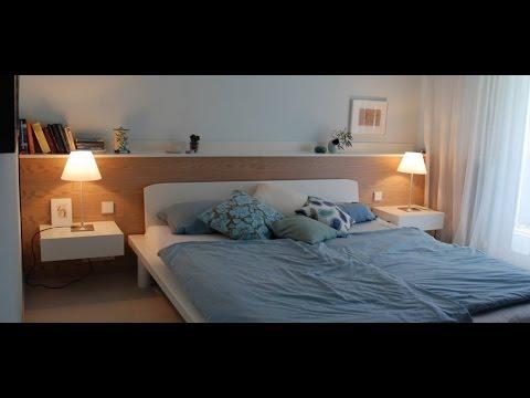 Besser und gesund schlafen - der richtige Standort des Bettes
