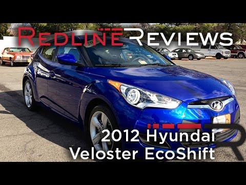 2012 Hyundai Veloster EcoShift Review, Walkaround, Exhaust, Test Drive