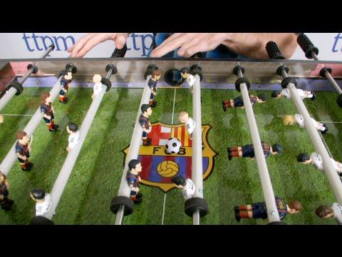 Barcelona Foosball Figures From Minigols - Barcelona fc table
