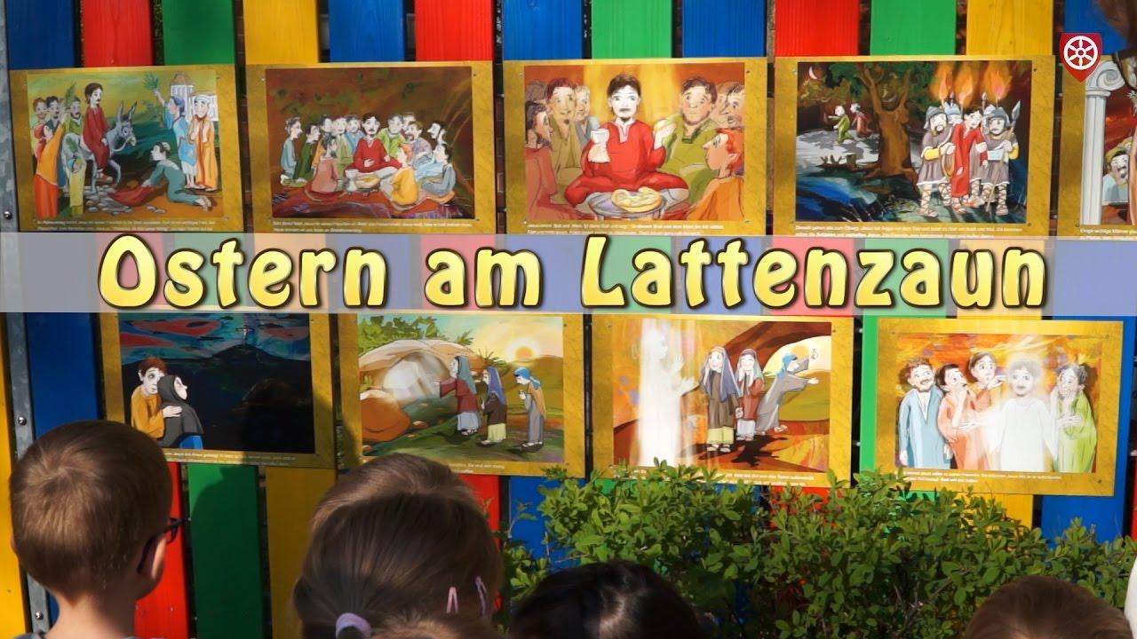 Die Ostergeschichte am Lattenzaun