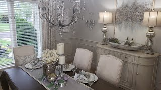 DINING ROOM DECORATING IDEAS/INTERIOR DESIGN/3 TABLESCAPE IDEAS