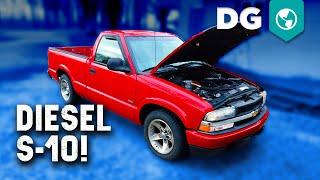 2.2 Isuzu 4cyl Diesel swapped 2000 Chevy S-10