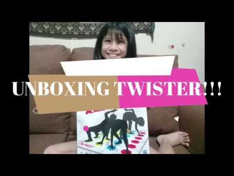 UNBOXING TWISTER GAME!!!
