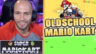 OLDSCHOOL MARIO KART? Super Mario Kart | Flying Uwe Gaming