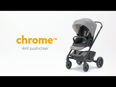 Joie chrome™ | Multi-Mode Pushchair For Newborns & Toddlers | 4 Modes