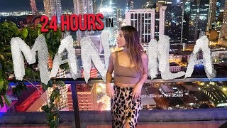 24 Hours In MANILA Philippines (We Didnt Expect THIS To Happen!)