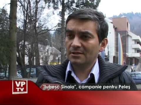 """""""Iubesc Sinaia"""", campanie pentru Castelul Peleş"""