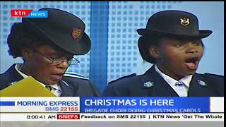 Salvation Army Choir doing Christmas carols: Morning Express