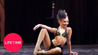 Dance Moms: Maddies Lights, Camera, Action Jazz Solo (Season 2 Flashback) | Lifetime