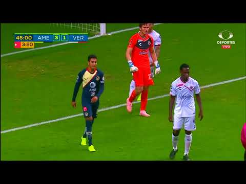 Resumen | América 4 - 1 Veracruz | Liga MX - Apertura 2018 - Jornada 17 | LIGA Bancomer MX