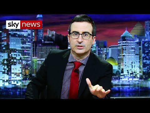 John Oliver on Trump, Brexit and fake news