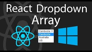 How to Create a React Dropdown using Array | Part 2