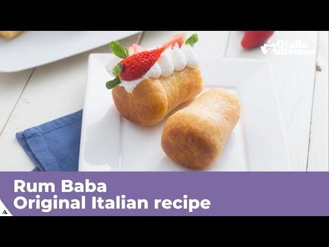RUM BABA – Original Italian recipe